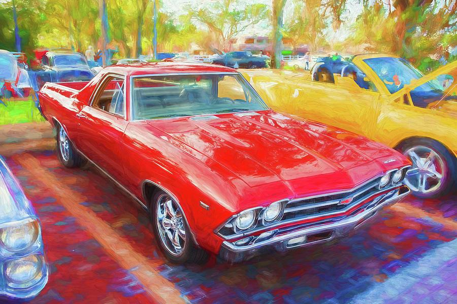 1969 Chevrolet El Camino Custom 350 X101 by Rich Franco