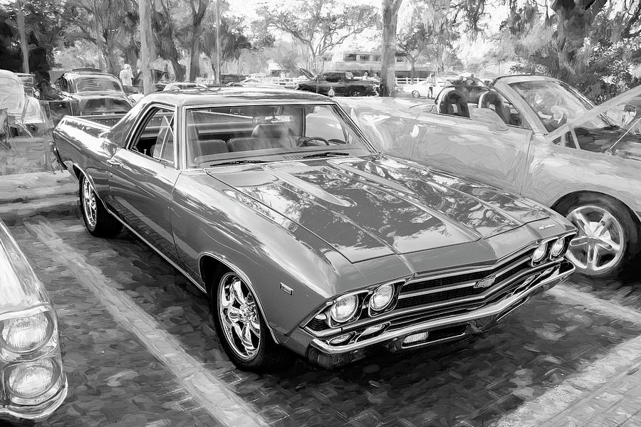 1969 Chevrolet El Camino Custom 350 X103 by Rich Franco