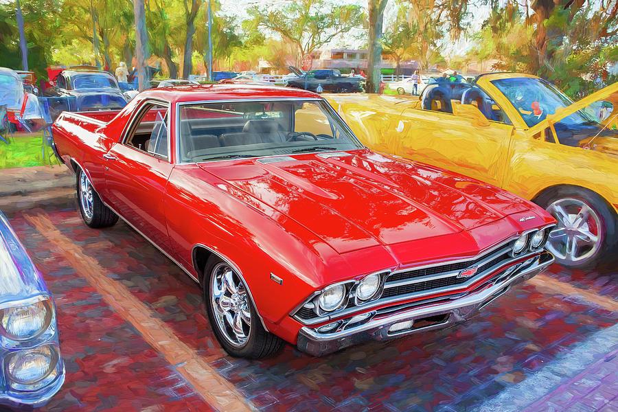 1969 Chevrolet El Camino Custom 350 X104 by Rich Franco