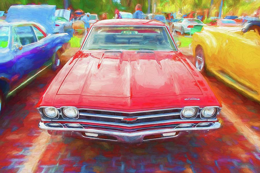 1969 Chevrolet El Camino Custom 350 X106 by Rich Franco