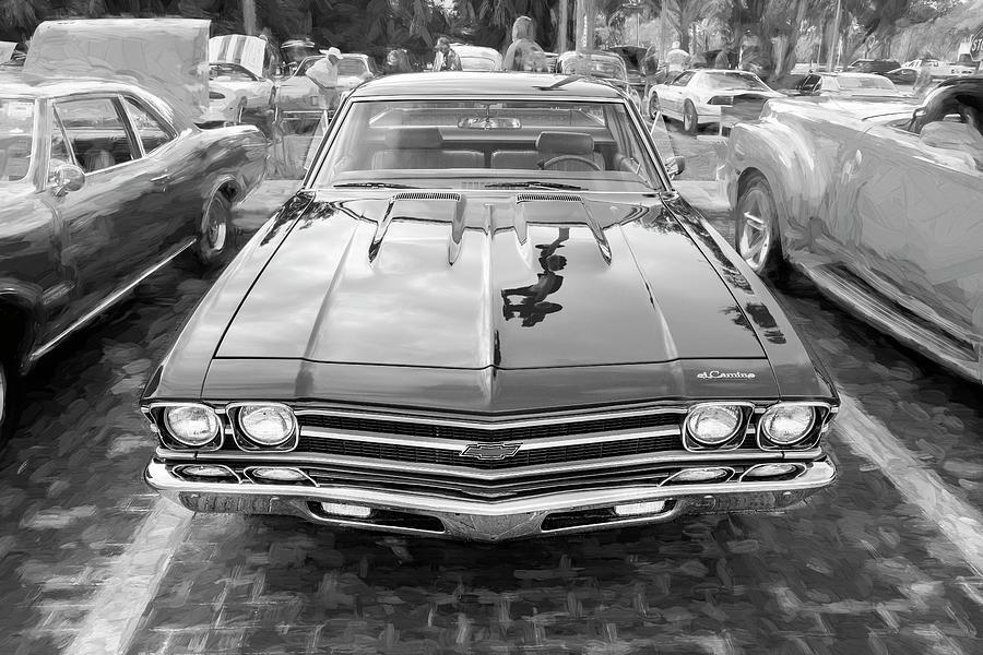 1969 Chevrolet El Camino Custom 350 X107 by Rich Franco