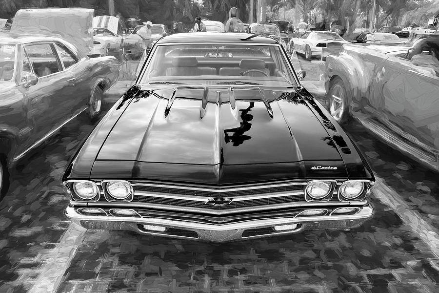 1969 Chevrolet El Camino Custom 350 X108 by Rich Franco