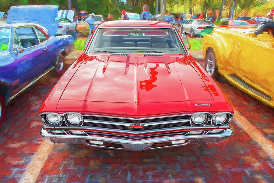 1969 Chevrolet El Camino Custom 350 X109 by Rich Franco