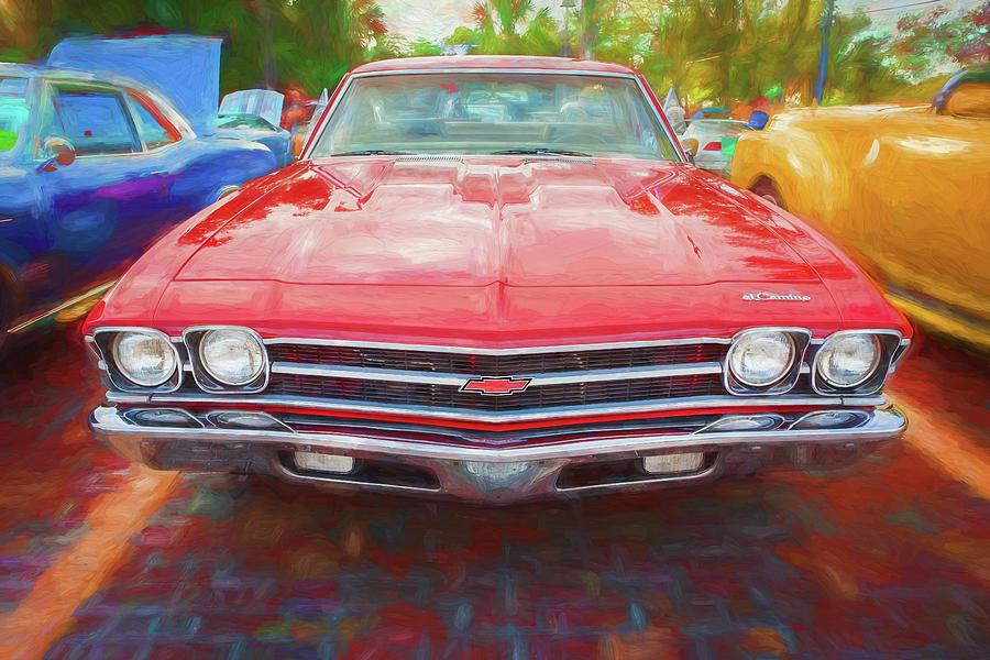 1969 Chevrolet El Camino Custom 350 X111 by Rich Franco