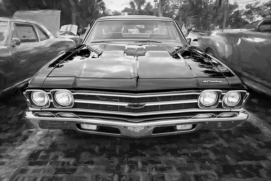 1969 Chevrolet El Camino Custom 350 X113 by Rich Franco