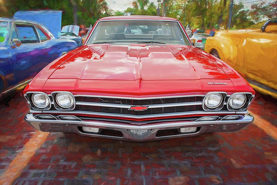1969 Chevrolet El Camino Custom 350 X114 by Rich Franco
