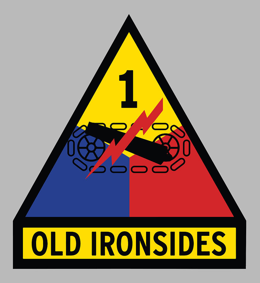 1st Armored Division Old Ironsides Photograph