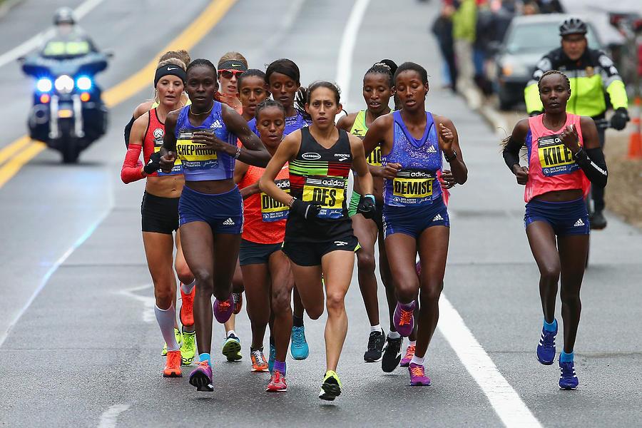 119th Boston Marathon Photograph by Maddie Meyer