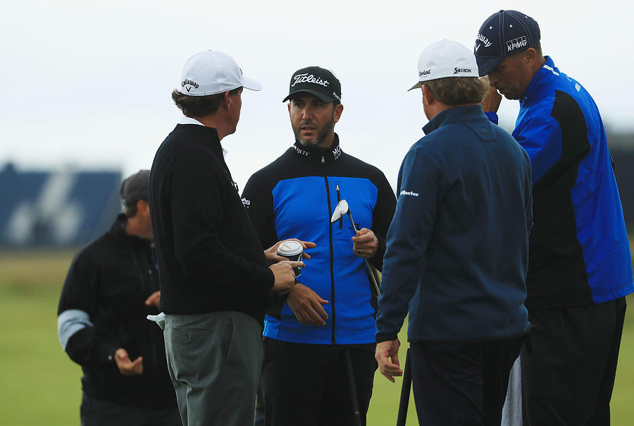 145th Open Championship - Previews Photograph by Mike Ehrmann