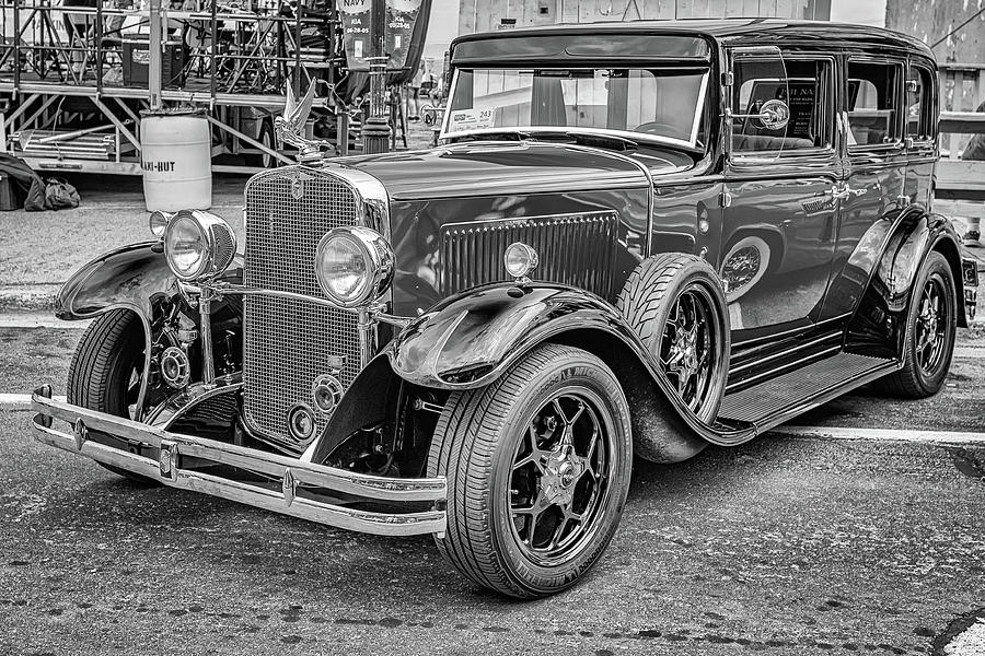 1931 Nash 880 Twin Ignition Straight Eight Sedan Photograph