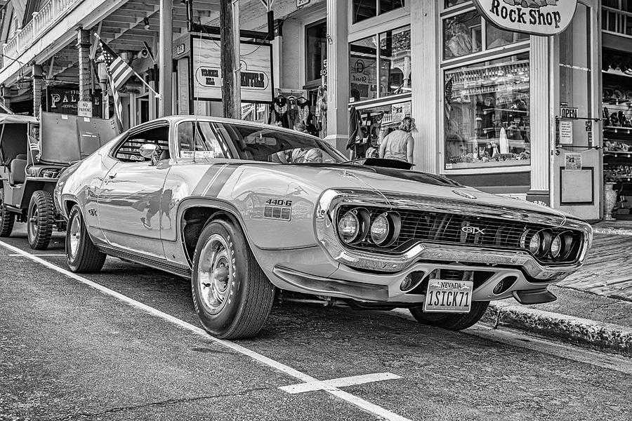 1971 Plymouth Gtx Hardtop Coupe Photograph