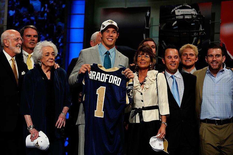2010 NFL Draft Round 1 Photograph by Jeff Zelevansky