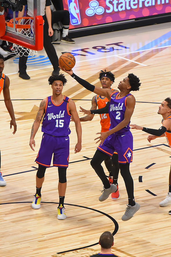 2020 NBA All-Star - Rising Stars Game Photograph by Bill Baptist
