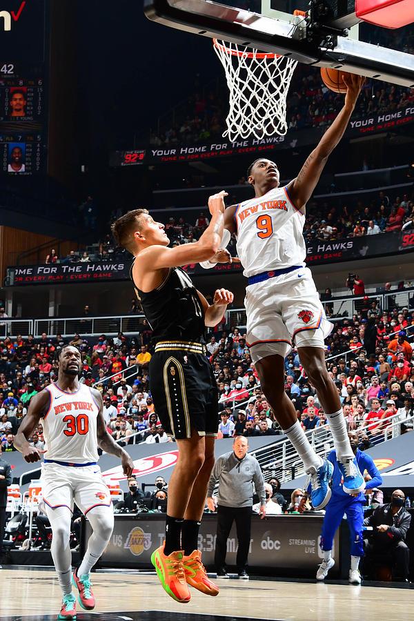 2021 NBA Playoffs - New York Knicks v Atlanta Hawks Photograph by Scott Cunningham