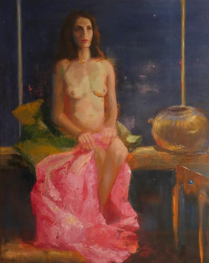 Nude Painting - Abandoned by Irena  Jablonski