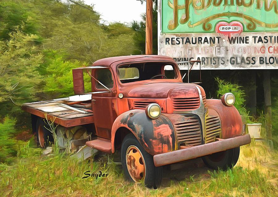 Abandoned Relic Harmony California Full Photograph