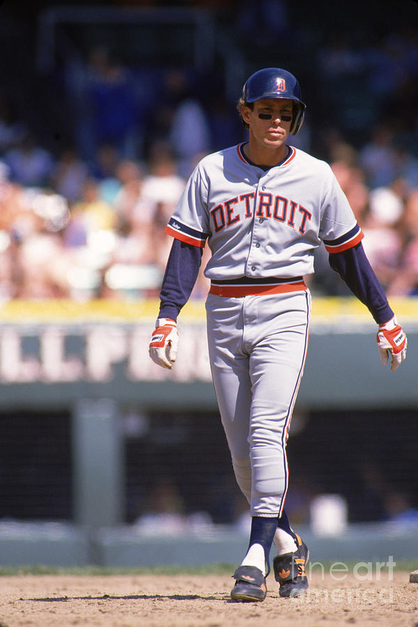 Alan Trammell Photograph by Ron Vesely