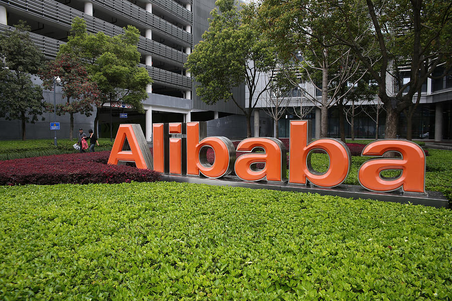 Alibaba To Kick Off IPO In U.S. Photograph by Hong Wu