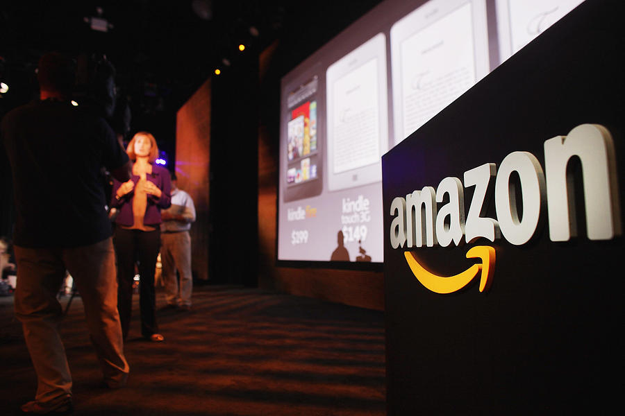 Amazon Introduces New Tablet At News Conference In New York Photograph by Spencer Platt