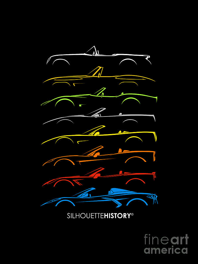 American Sports Cabrio SilhouetteHistory by Gabor Vida