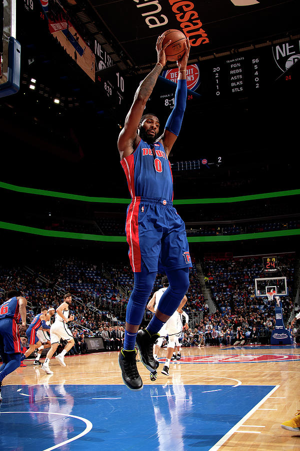 Andre Drummond Photograph by Chris Schwegler