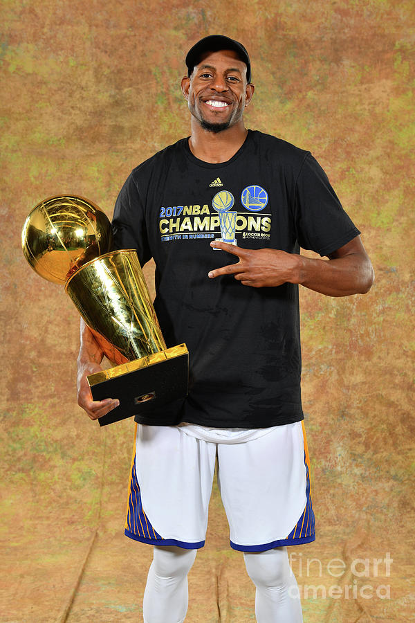 Andre Iguodala Photograph by Jesse D. Garrabrant