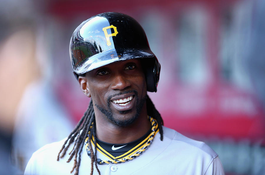 Andrew Mccutchen Photograph by Andy Lyons