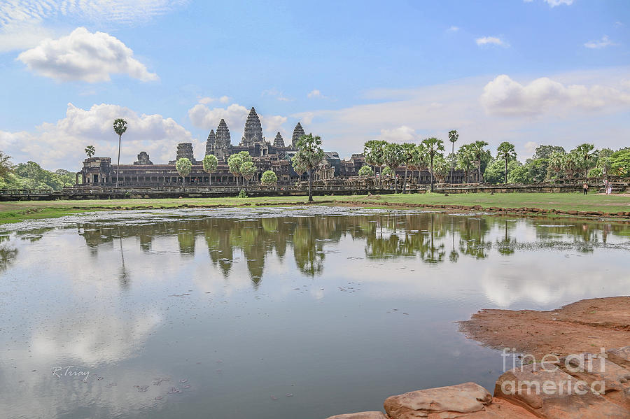 Angkor Wat Temple Siem Reap  by Rene Triay Photography