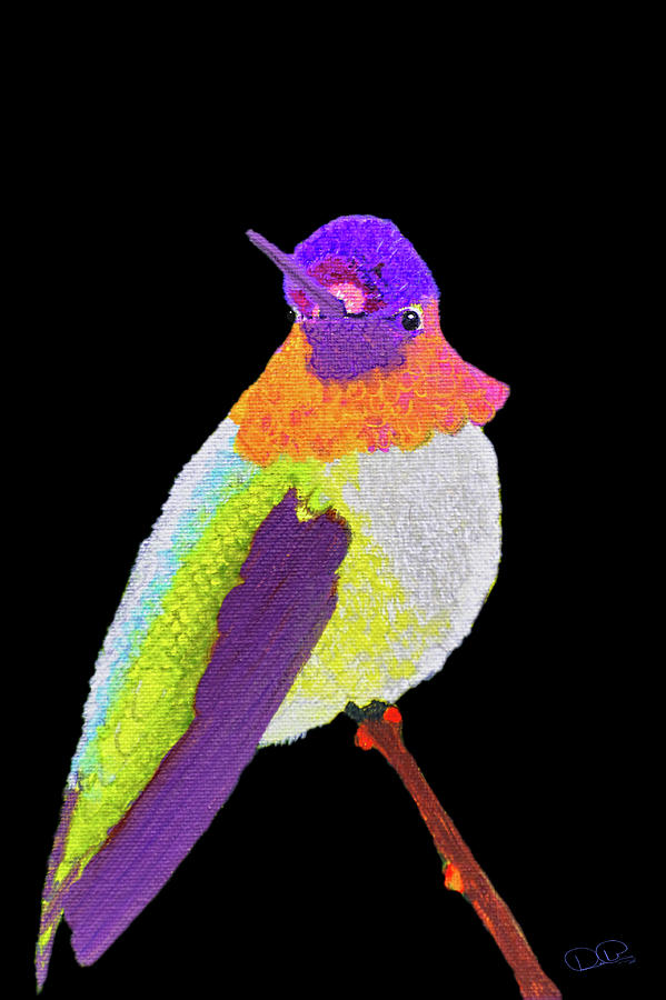 Anna's Hummingbird I by Dee Browning