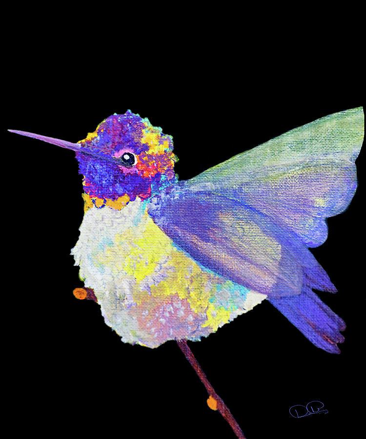 Anna's Hummingbird III by Dee Browning