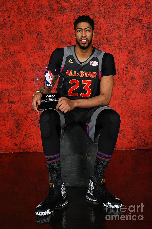 Anthony Davis Photograph by Jesse D. Garrabrant