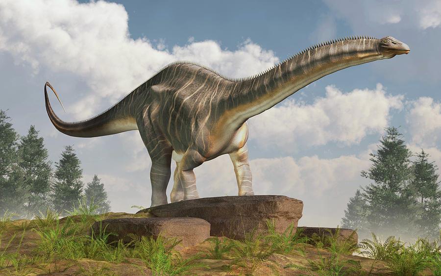 Apatosaurus Digital Art