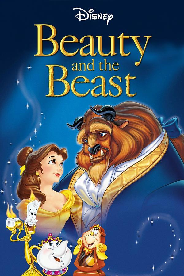 Beauty And The Beast 1991 Digital Art By Geek N Rock
