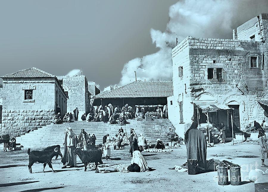 Bethlehem Old Market Photograph
