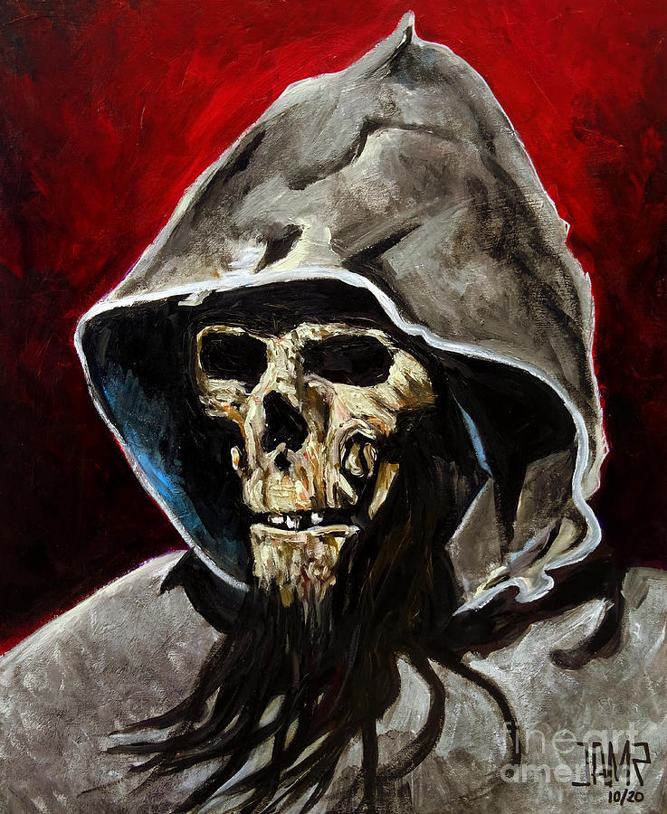 Blind Dead Painting - Blind dead by Jose Mendez