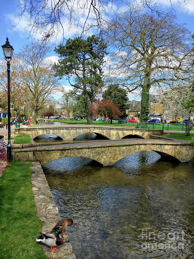 Architecture Photograph - Bourton On The Water by Tom Gowanlock