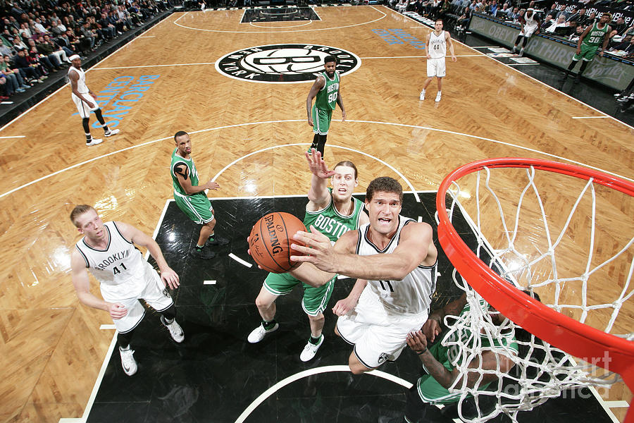 Brook Lopez Photograph by Nathaniel S. Butler