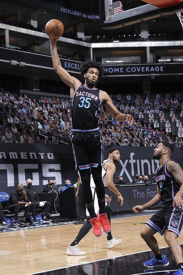 Brooklyn Nets v Sacramento Kings Photograph by Rocky Widner