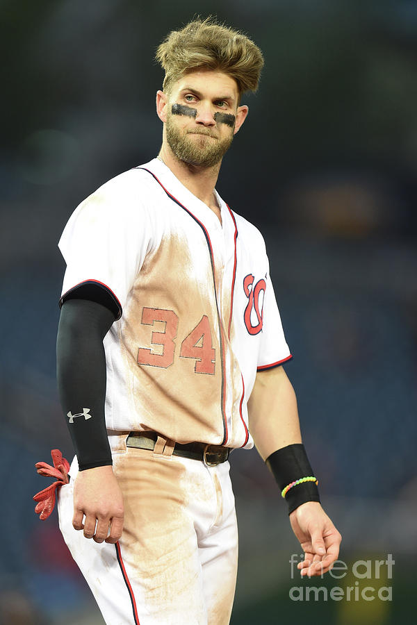 Bryce Harper Photograph by Mitchell Layton