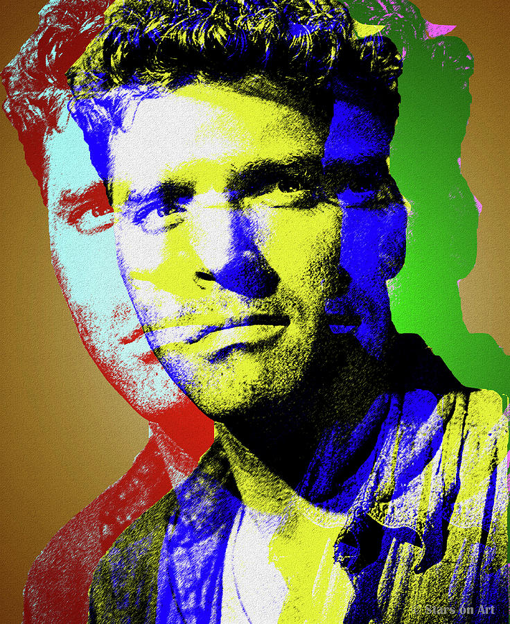 Burt Lancaster Digital Art