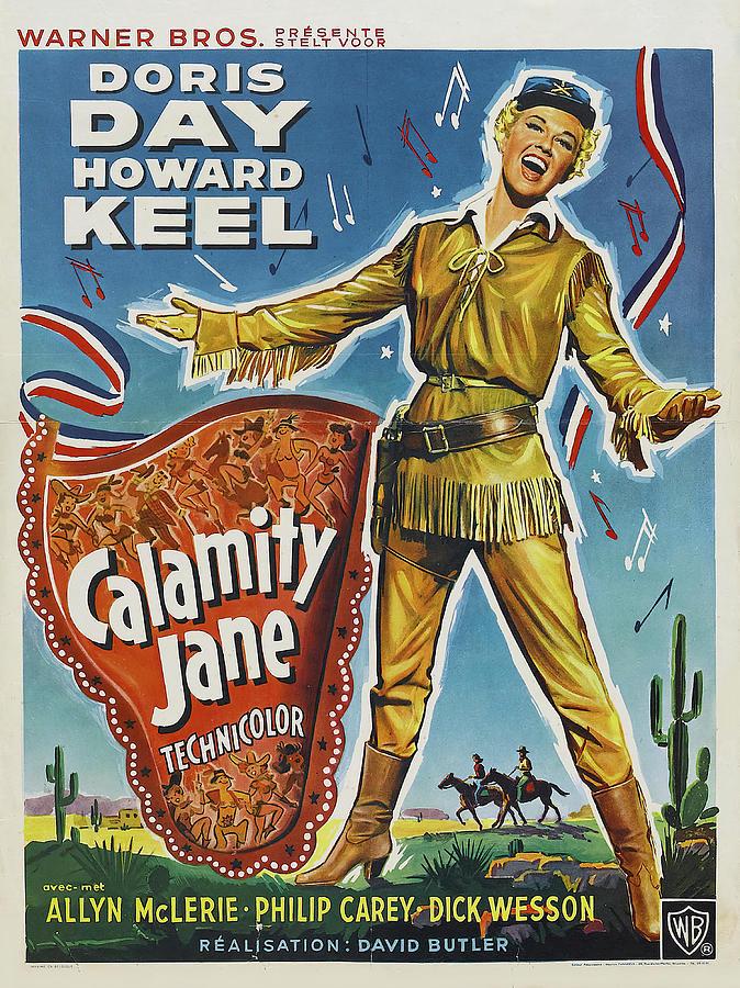 calamity Jane - 1953 Mixed Media