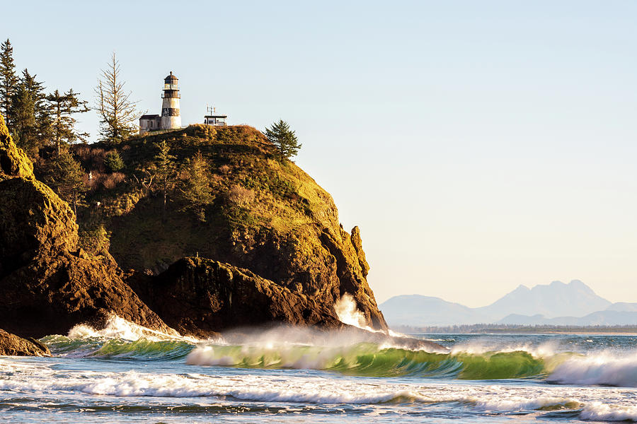 Cape Disappointment Lighthouse by Michael Lee