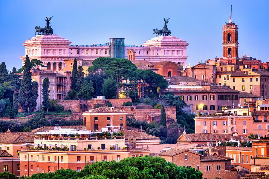 Capitoline Hill by Fabrizio Troiani