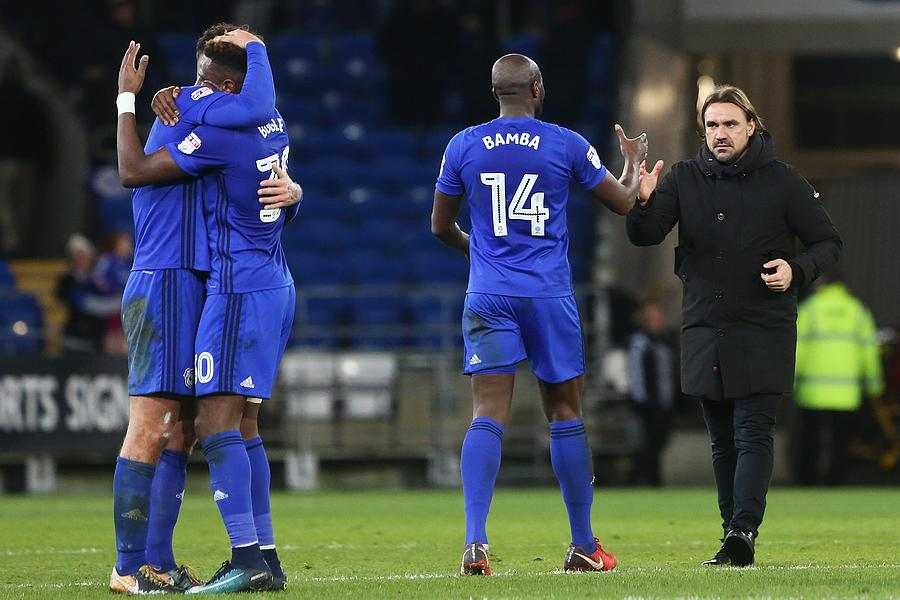 Cardiff City v Norwich City - Sky Bet Championship Photograph by Athena Pictures