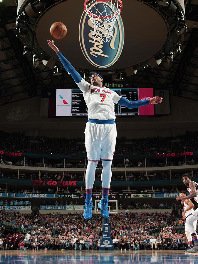 Carmelo Anthony Photograph by Glenn James