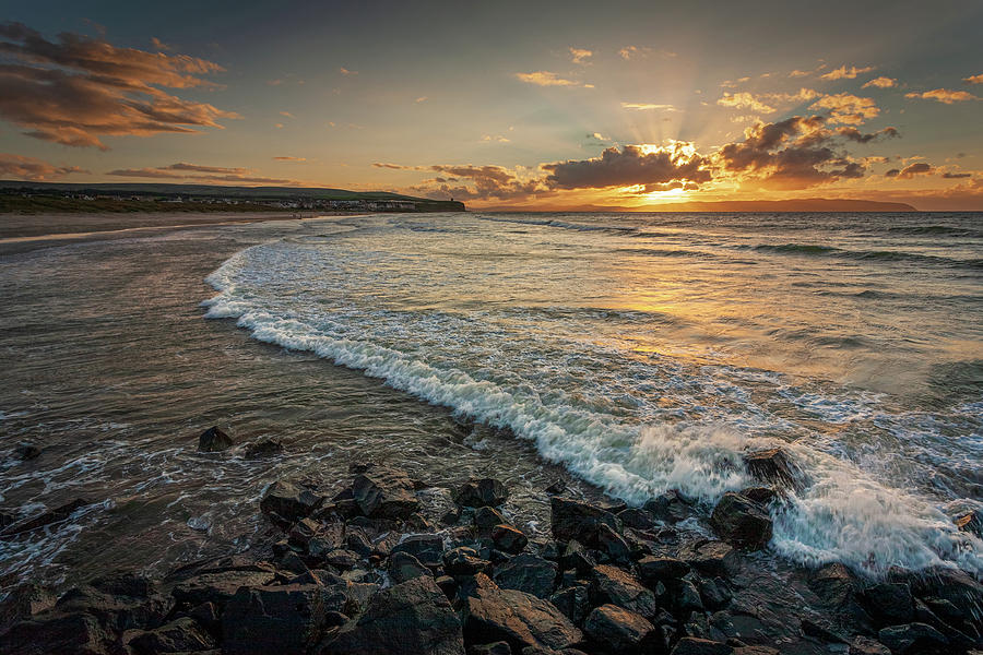 Castlerock Sunset 2 Photograph