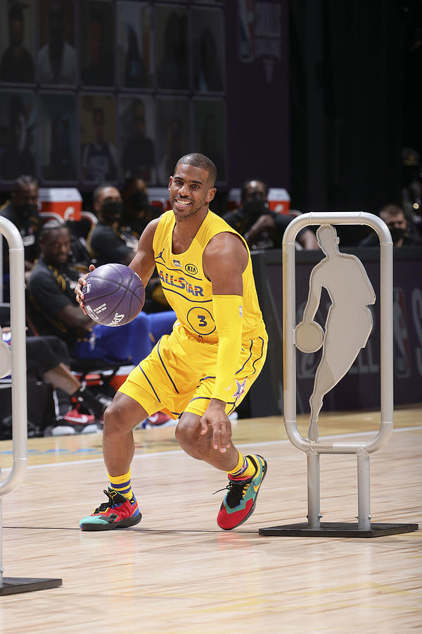 Chris Paul Photograph by Nathaniel S. Butler