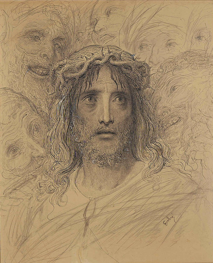 Christ Mocked by Gustave Dore
