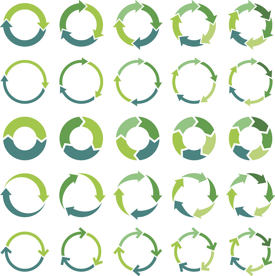 Circle infographic Drawing by Ulimi