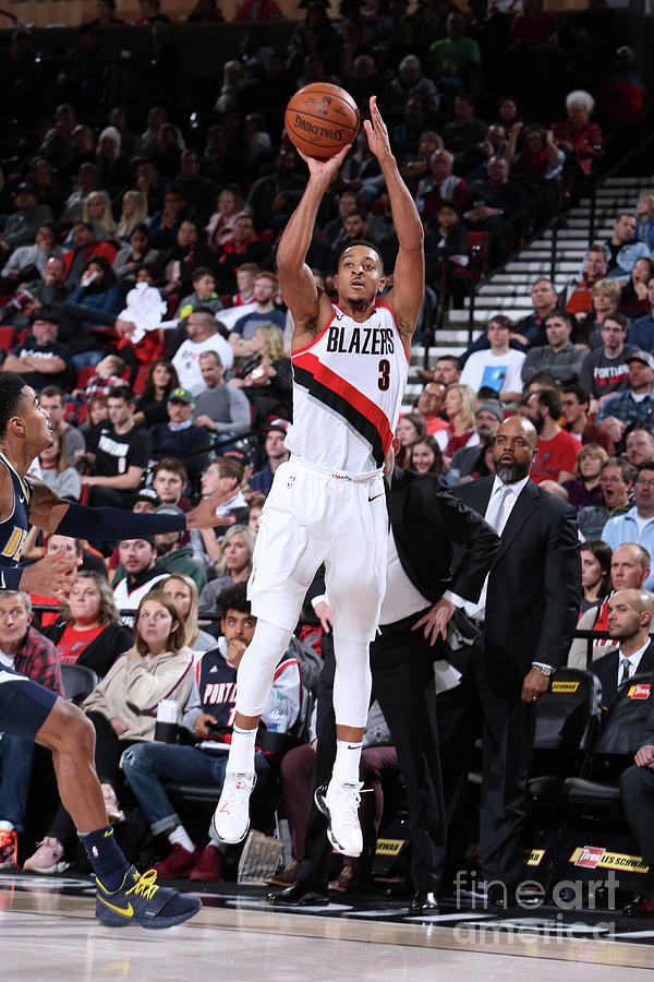 C.j. Mccollum Photograph by Sam Forencich